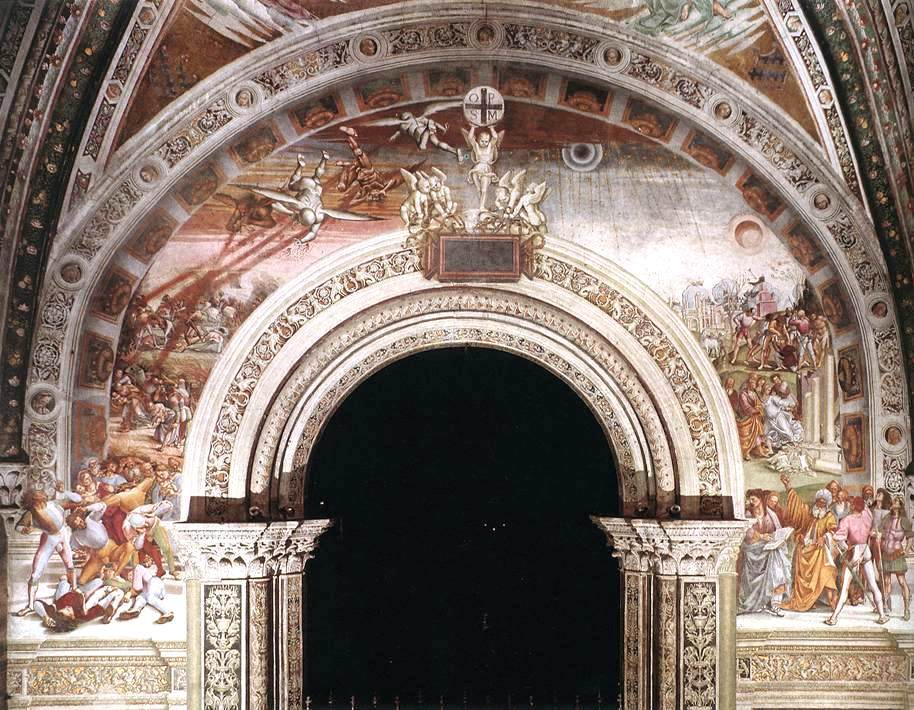 "<img src=""http://marenostrum.pl/wp-content/uploads//2019/10/1.-Luca-Signorelli-ok.1445-1523-Sąd-Ostateczny-San-Brizio-Chapel-katedra-w-Orvieto-1499-1504.jpg"" alt=""Luca Signorelli San Brizio"" />"