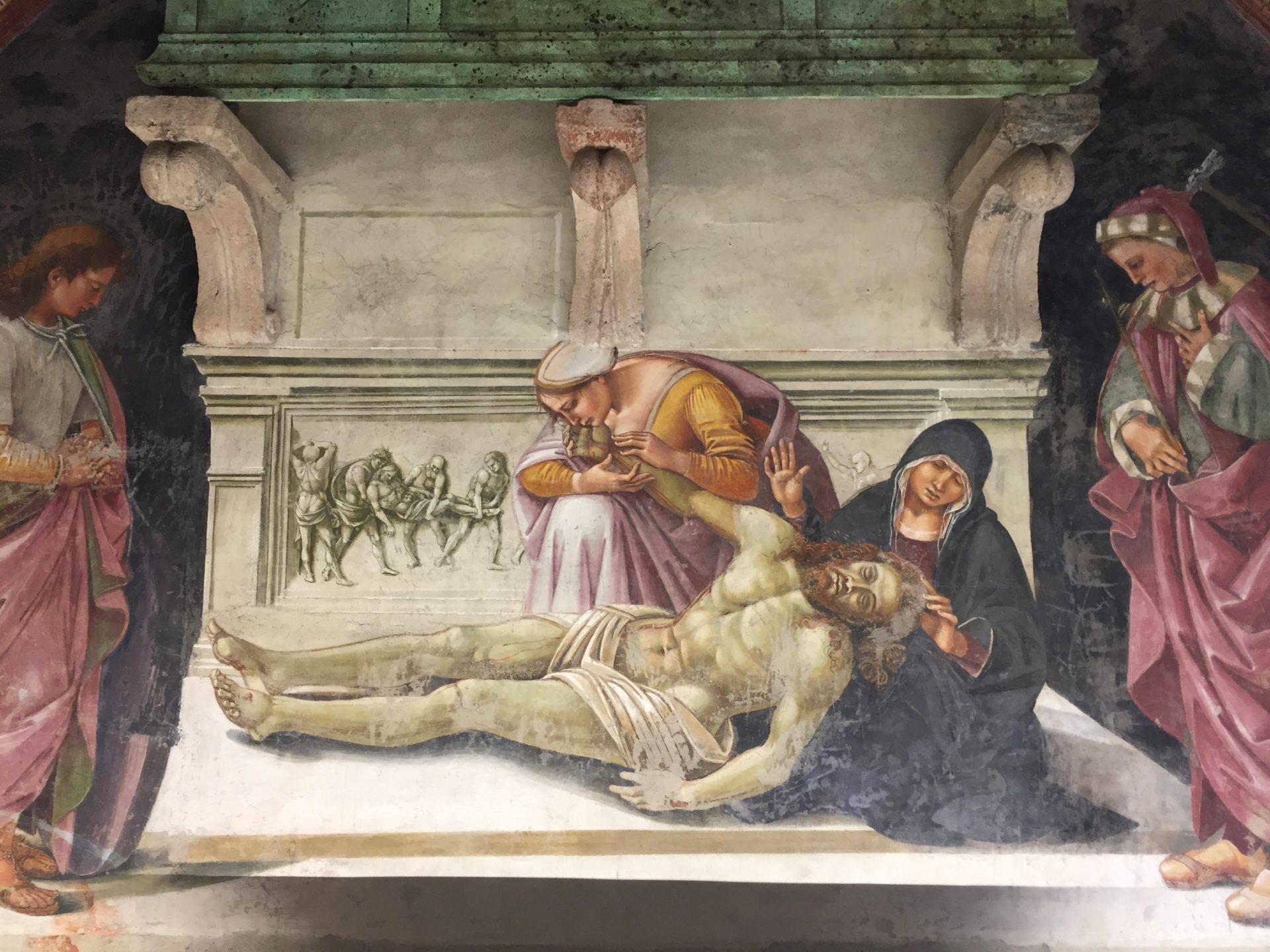 """<img src=""""http://marenostrum.pl/wp-content/uploads//2019/10/Pieta-Signorelli.jpeg"""" alt=""""Pieta Signorelli San Brizio"""" />"""